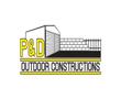 P & D Outdoor Constructions Logo