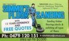 Simmos Floor Sanding Logo