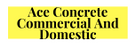 MRH Concrete and Landscaping Logo