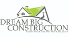 Dream Big Construction Logo