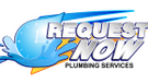 Request Now Plumbing Services Logo