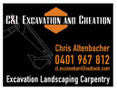 C&L Excavation & Creation Logo