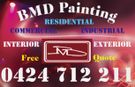 Pat's Painting and Decorating Services Logo
