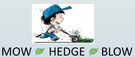 Mow Hedge Blow Logo
