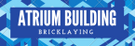 Atrium Building and Bricklaying Logo