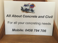All About Concrete and Civil Logo
