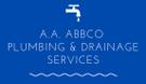 A.A. Abbco Plumbing & Drainage Services Logo