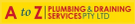 A To Z Plumbing & Drainage Services Pty Ltd Logo