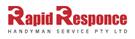 Rapid Response Handyman Service Logo