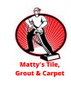 Matty's Tile, Grout & Carpet Logo