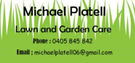 Michael Platell Lawn and Garden Care Logo