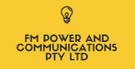 FM Power and Communications Pty Ltd Logo