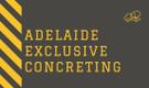 Adelaide Exclusive Concreting Logo