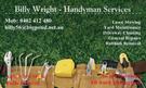 Billy Wright - Handyman Services Logo