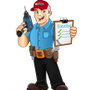"""All Home Services - """"All Lawns & Gardens"""" Logo"""