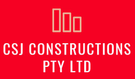 CSJ CONSTRUCTIONS PTY LTD Logo