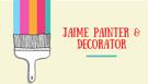 JAIME Painter & Decorator Logo