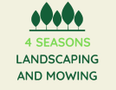 4 Seasons Landscaping and Mowing Logo