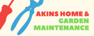 Akins Home And Garden Maintenance Logo