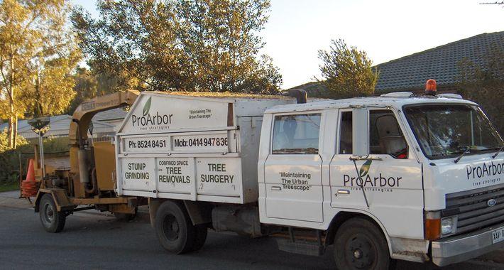 Proarbor Tree Strategies Logo