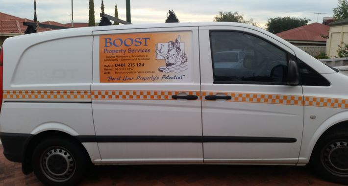 Boost Property Services Logo