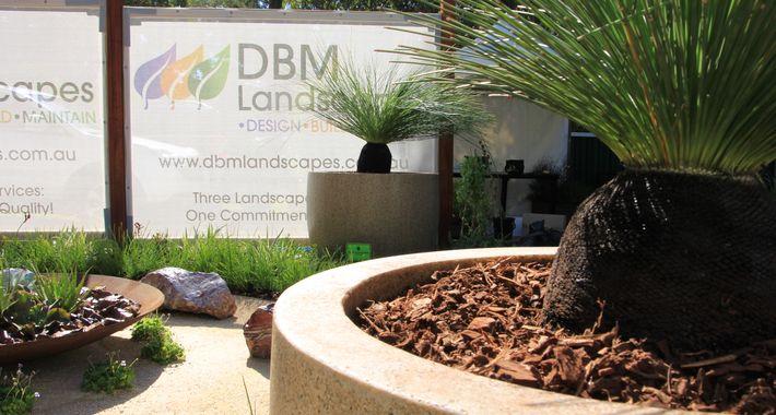 DBM Landscapes Logo