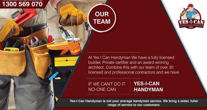 Yes I Can Handyman Logo