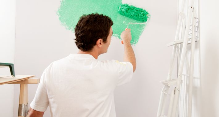 Pacific Building Services - Painting Logo