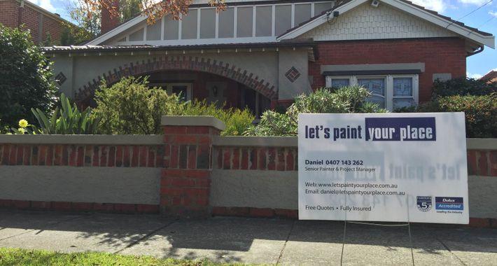 Let's Paint Your Place Logo