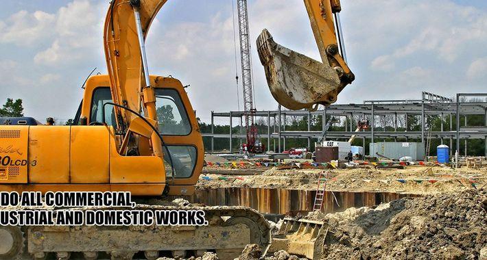 CDA Earthworx & Excavation Logo