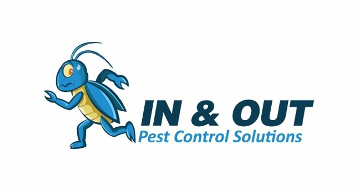 In and Out Pest Control Logo