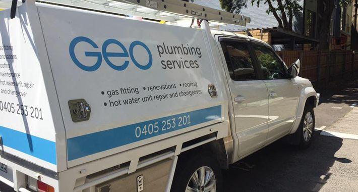 Geo Plumbing Services Logo