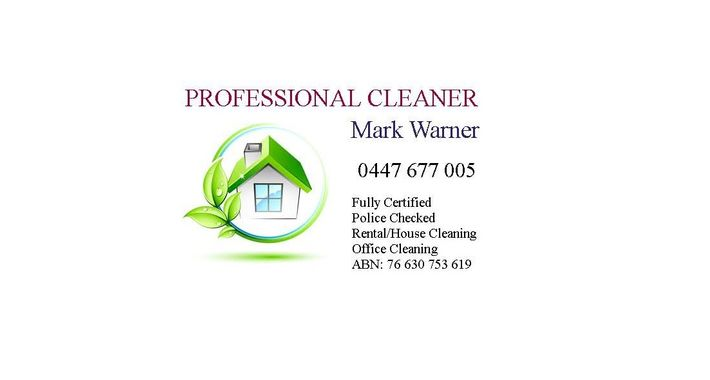 Mark Warner Cleaner Logo