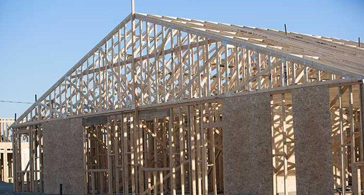 Interpret Construction Building & Carpentry Logo