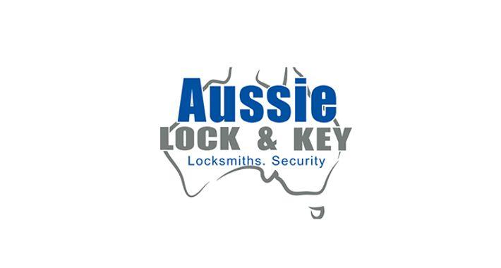 Aussie Lock & Key Logo