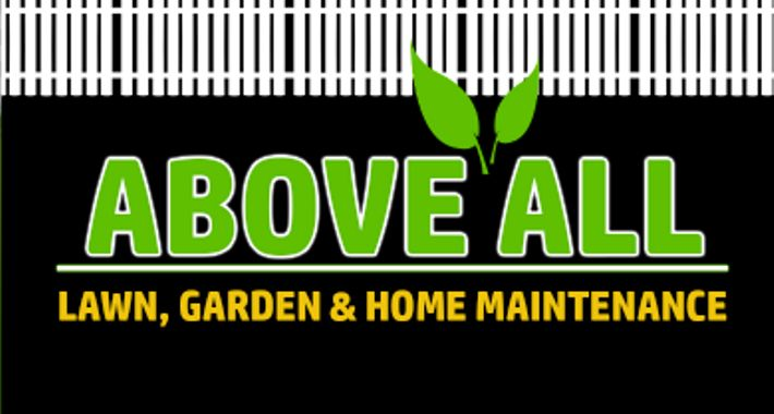 Above All Lawn, Garden and Home Maintenance Logo