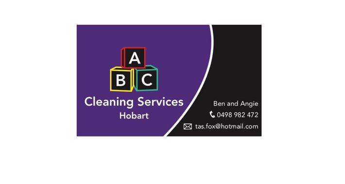 ABC Cleaning Services Hobart Logo