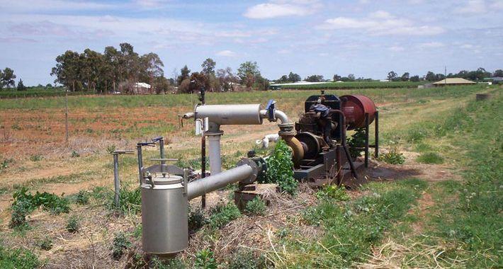 Greenbank Pumps and Irrigation Logo