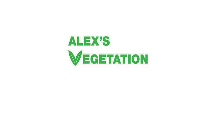 Alex's Vegetation - Gardening Logo