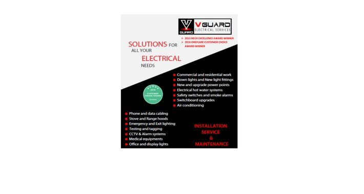 V Guard Electrical Services Logo