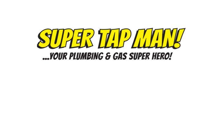 Super Tap Man Logo