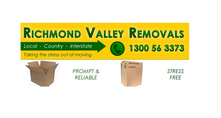 Richmond Valley Removals Logo