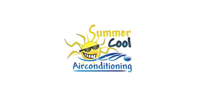 Summer Cool Air Conditioning Logo