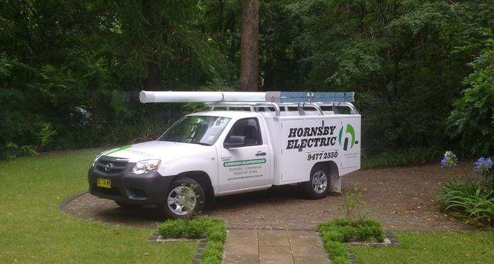 Hornsby Electric Pty Ltd Logo