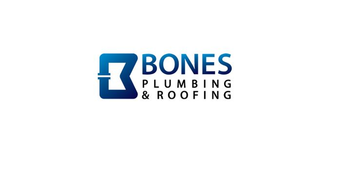 Bones Plumbing & Roofing Logo