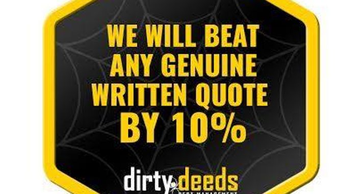 Dirty Deeds Pest Management Logo