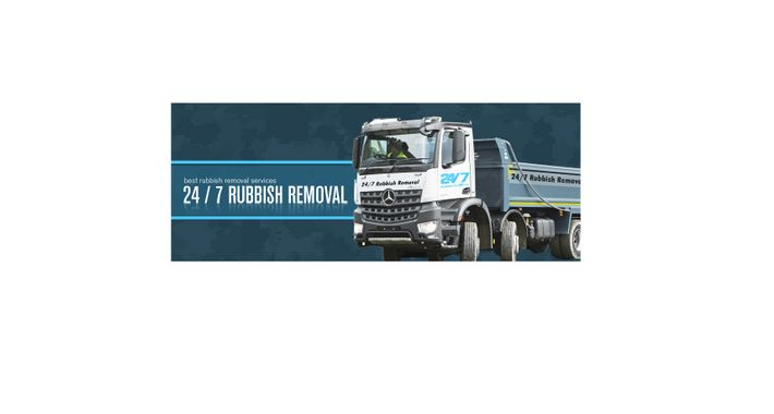 24/7 Rubbish Removal Logo
