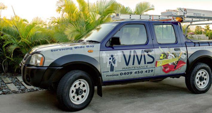 VMS Maintenance Logo