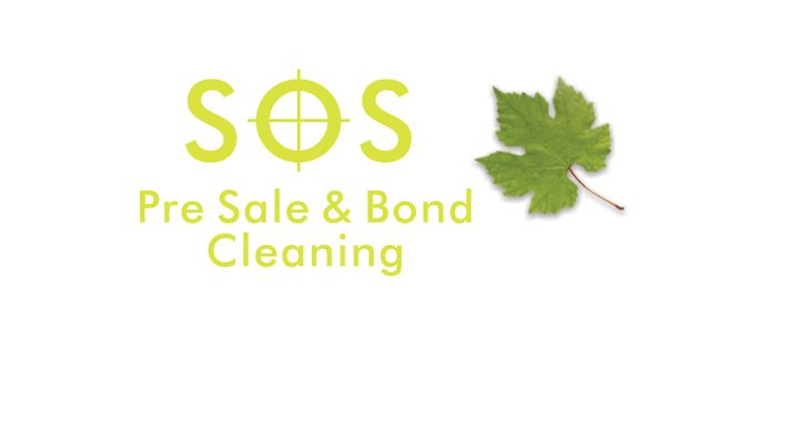 SOS Cleaning Services Logo