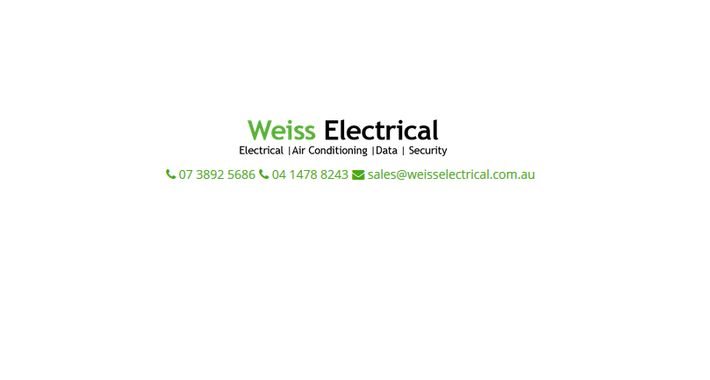 Weiss Electrical Logo
